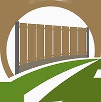 Schuttingen - schuttingen en poorten